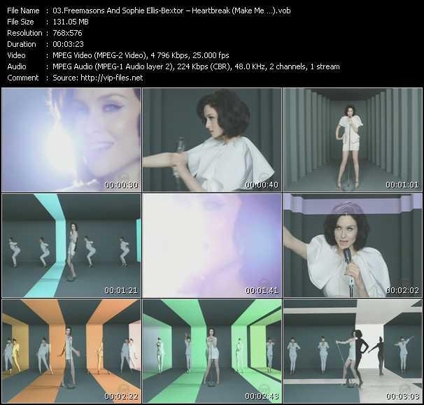 Freemasons Feat. Sophie Ellis-Bextor - Heartbreak (Make Me ?)