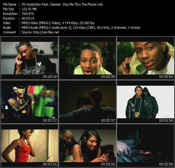 Soulja Boy Tell 'Em Feat. Sammie - Kiss Me Thru The Phone