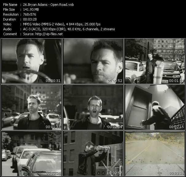 B. Adams - Open Road