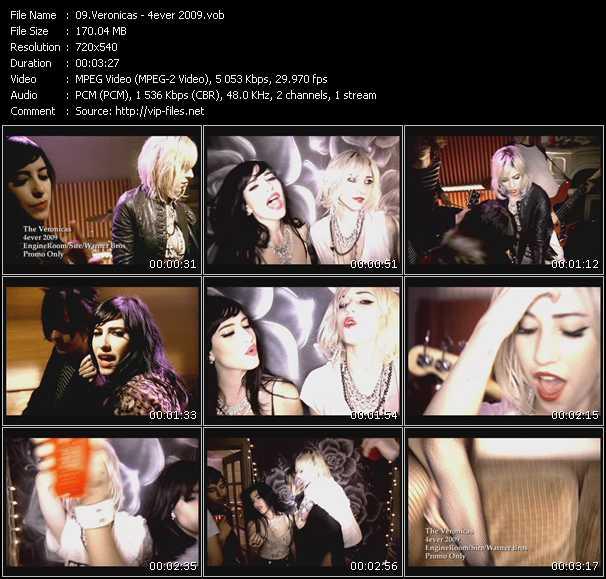 Veronicas - 4ever 2009