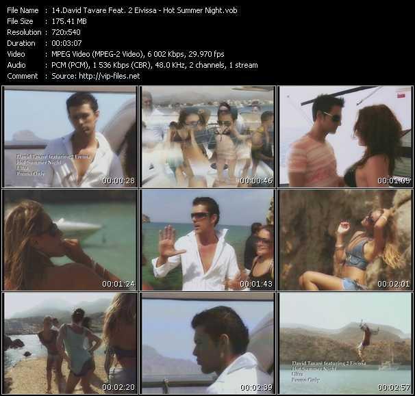 David Tavare Feat. 2 Eivissa - Hot Summer Night