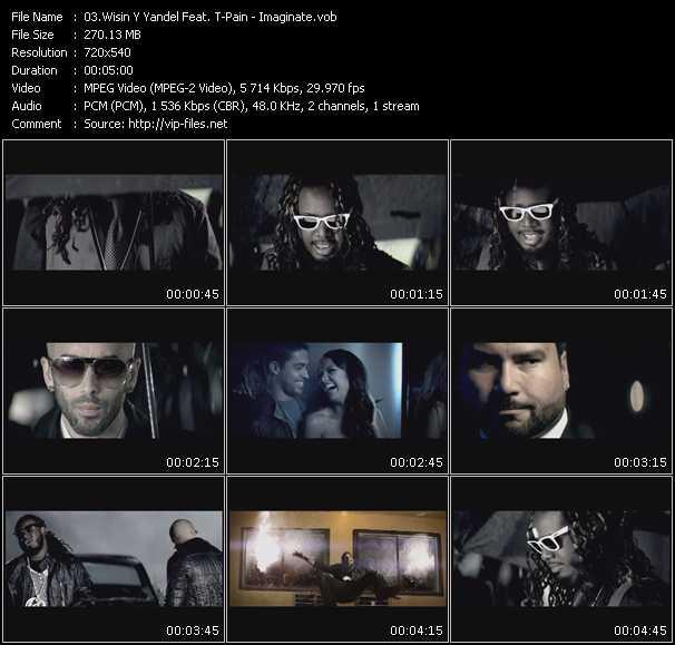 Wisin And Yandel Feat. T-Pain - Imaginate