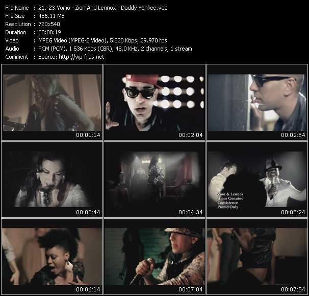 Yomo - Zion And Lennox - Daddy Yankee - Descara - Amor Genuino - El Ritmo No Perdona (Prende)