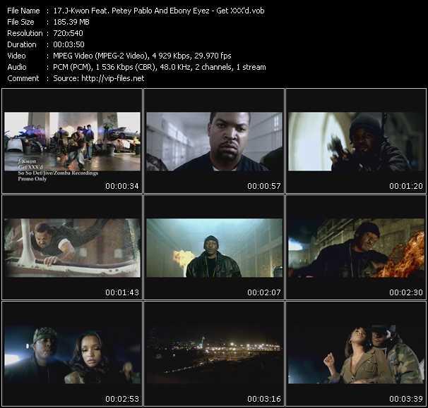 J-Kwon Feat. Petey Pablo And Ebony Eyez - Get XXX'd
