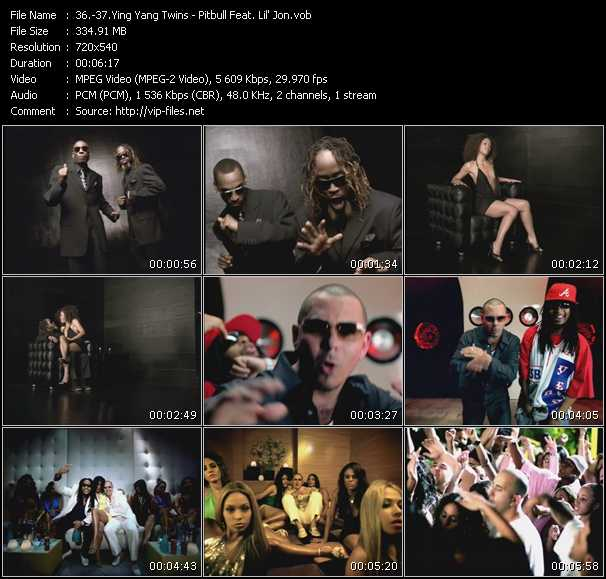 Ying Yang Twins - Pitbull Feat. Lil' Jon - Wait (The Whisper Song) - Toma