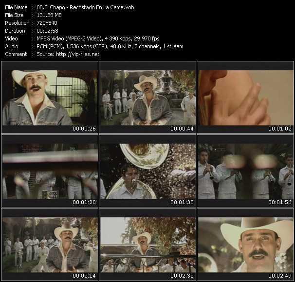 El Chapo - Recostado En La Cama