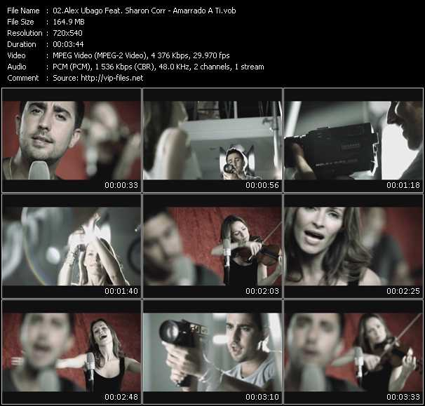 Alex Ubago Feat. Sharon Corr - Amarrado A Ti