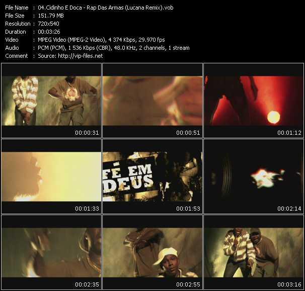 Cidinho E Doca - Rap Das Armas (Lucana Remix)
