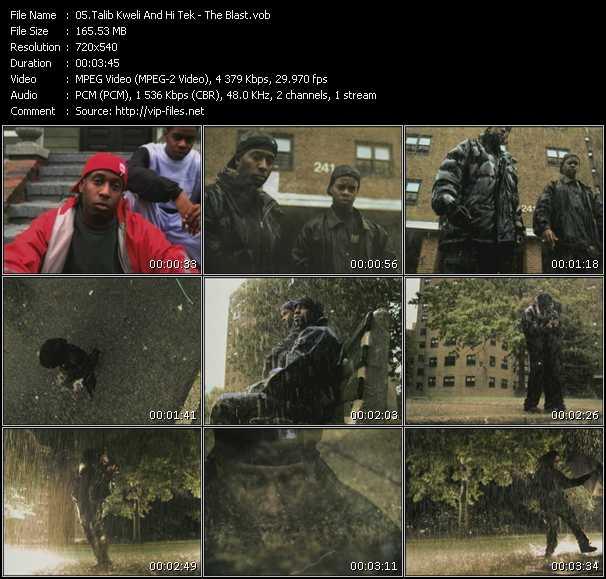 Talib Kweli And Hi-Tek - The Blast
