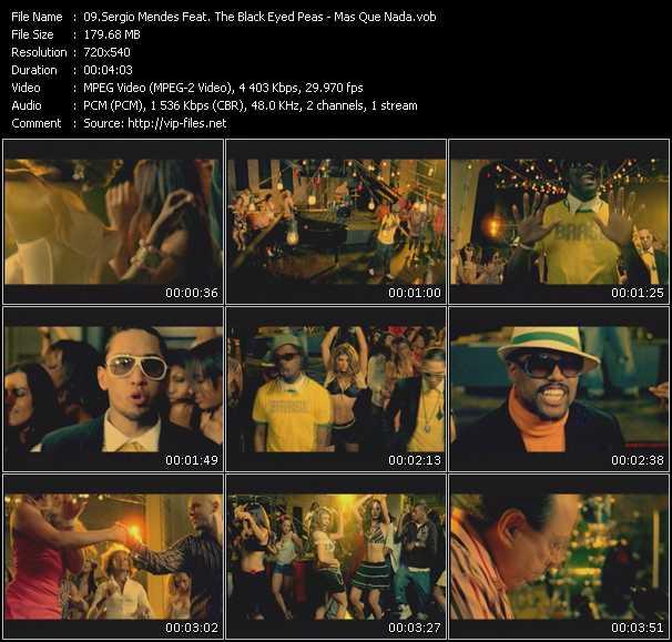 Sergio Mendes Feat. The Black Eyed Peas - Mas Que Nada