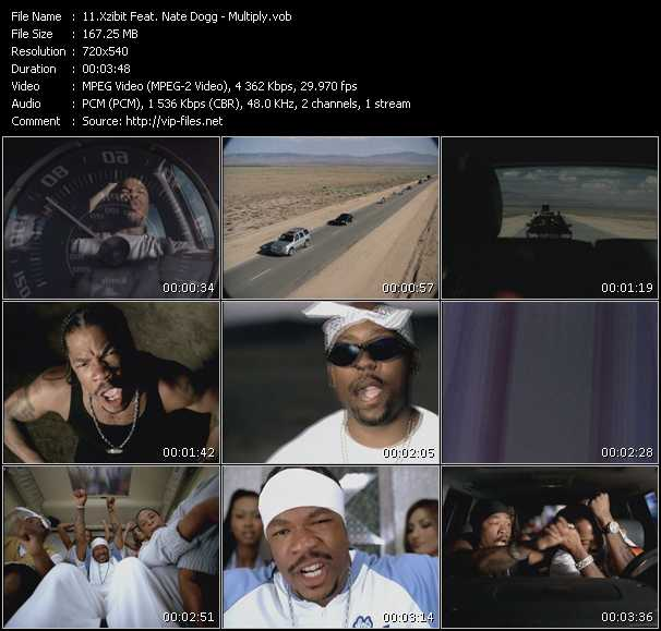 Xzibit Feat. Nate Dogg - Multiply