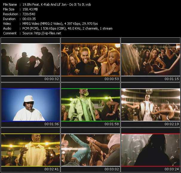 Bhi Feat. K-Rab And Lil' Jon - Do It To It