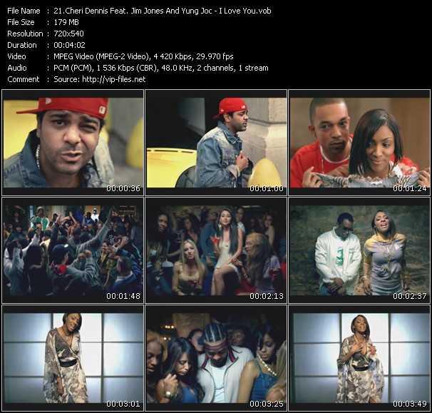Cheri Dennis Feat. Jim Jones And Yung Joc - I Love You