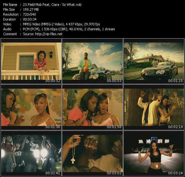 Field Mob Feat. Ciara - So What