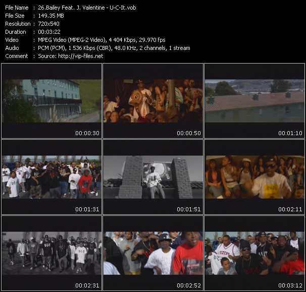 Bailey Feat. J. Valentine - U-C-It