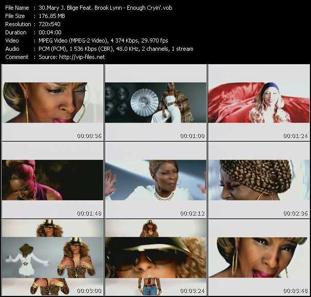 Mary J. Blige Feat. Brook Lynn - Enough Cryin'