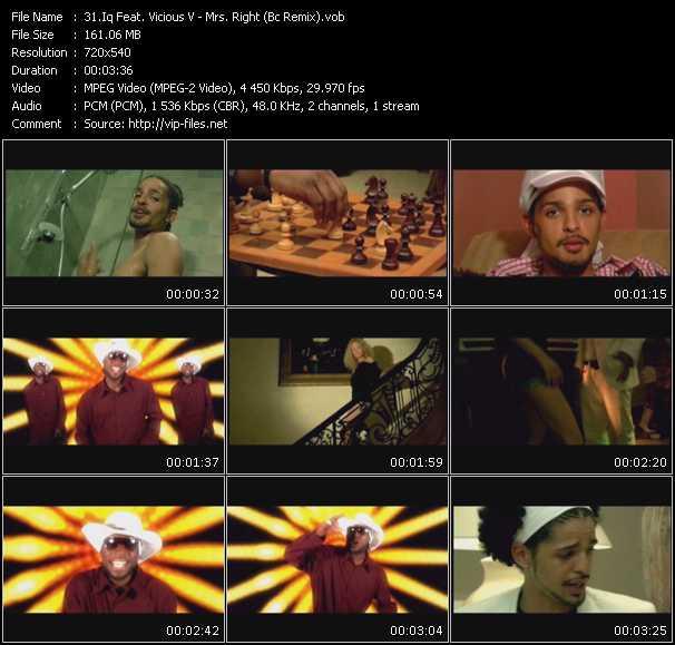 Iq Feat. Vicious V - Mrs. Right (Bc Remix)