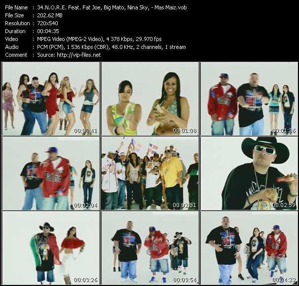N.O.R.E. Feat. Fat Joe, Big Mato, Nina Sky - Mas Maiz