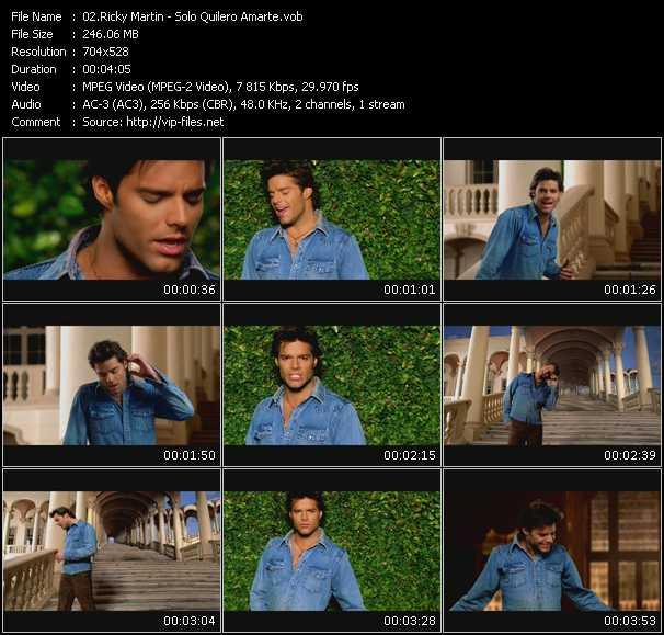 Ricky Martin - Solo Quilero Amarte