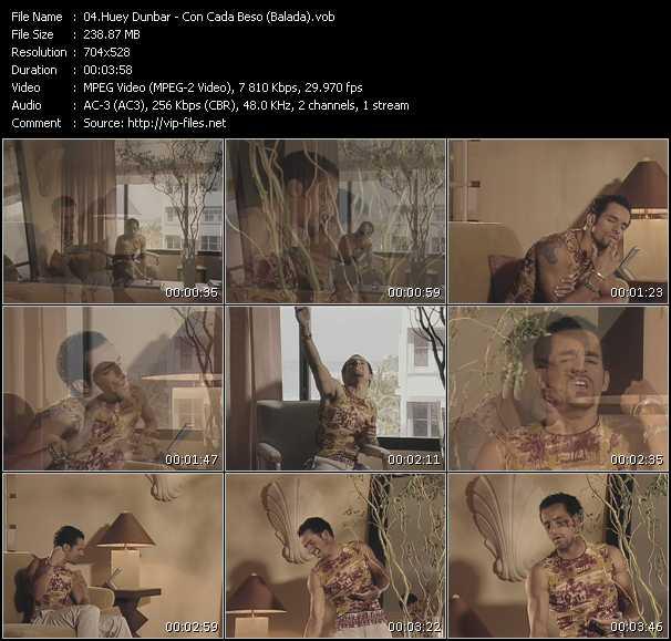 Huey Dunbar - Con Cada Beso (Balada)