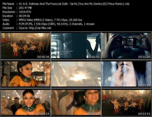 A.R. Rahman And Pussycat Dolls - Jai Ho (You Are My Destiny) (DJ Fisun Remix)