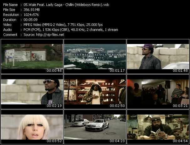 Wale Feat. Lady Gaga - Chillin (Wideboys Remix)
