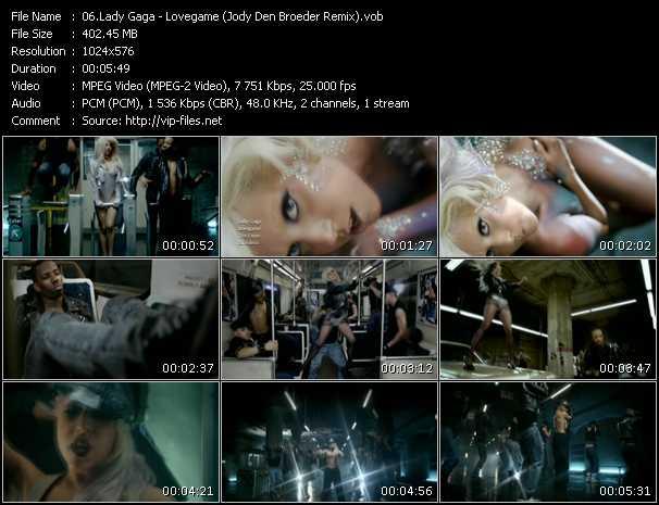 Lady Gaga - Lovegame (Jody Den Broeder Remix)
