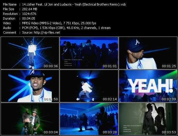 Usher Feat. Lil' Jon And Ludacris - Yeah (Electrical Brothers Remix)