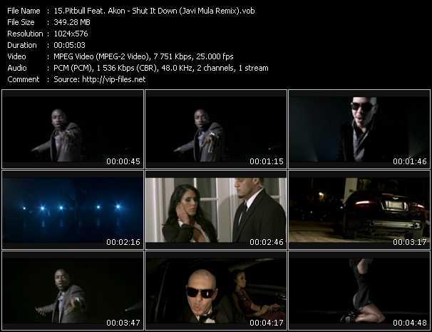 Pitbull Feat. Akon - Shut It Down (Javi Mula Remix)
