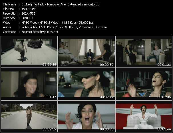 Nelly Furtado - Manos Al Aire (Extended Version)