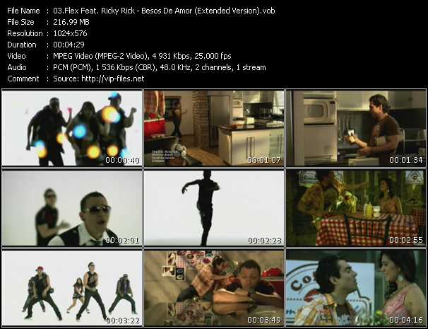 Flex Feat. Ricky Rick - Besos De Amor (Extended Version)