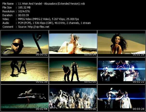 Wisin And Yandel - Abusadora (Extended Version)