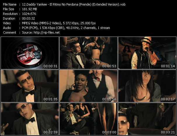 Daddy Yankee - El Ritmo No Perdona (Prende) (Extended Version)