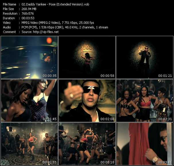 Daddy Yankee - Pose (Extended Version)