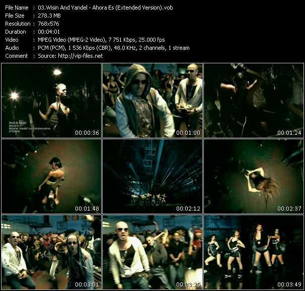 Wisin And Yandel - Ahora Es (Extended Version)