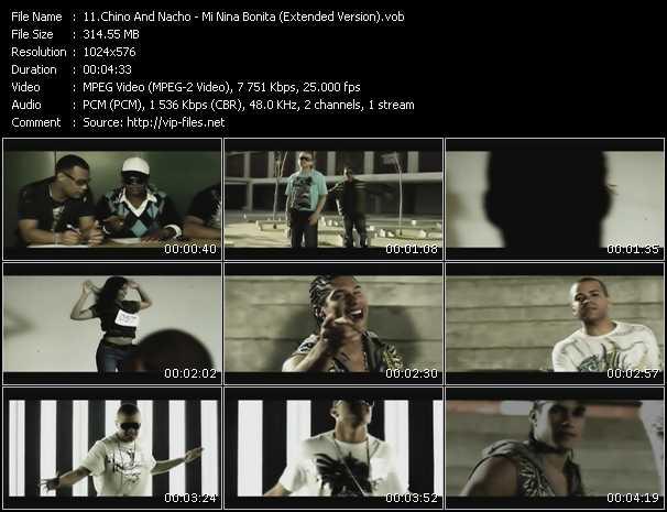 Chino And Nacho - Mi Nina Bonita (Extended Version)