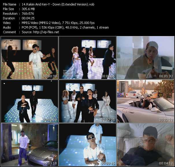 Rakim And Ken-Y - Down (Extended Version)