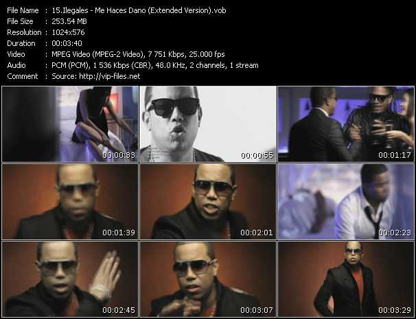 Ilegales - Me Haces Dano (Extended Version)