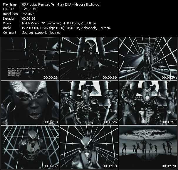 Prodigy Remixed Vs. Missy Elliott - Medusa Bitch