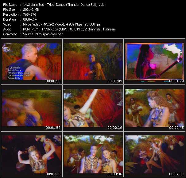 2 Unlimited - Tribal Dance (Thunder Dance Edit)