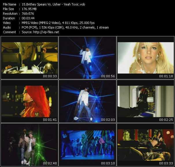 Britney Spears Vs. Usher - Yeah Toxic