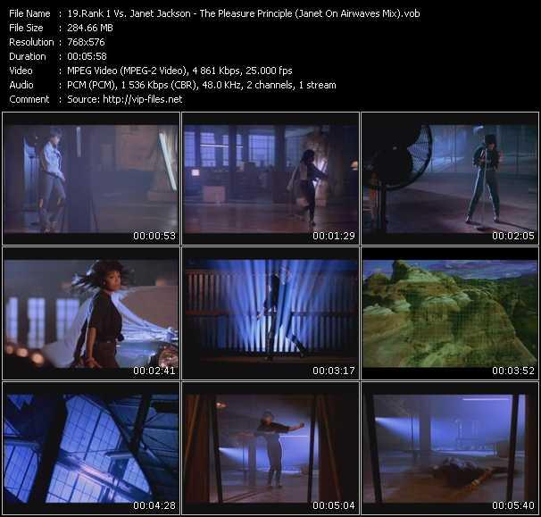 Rank 1 Vs. Janet Jackson - The Pleasure Principle (Janet On Airwaves Mix)