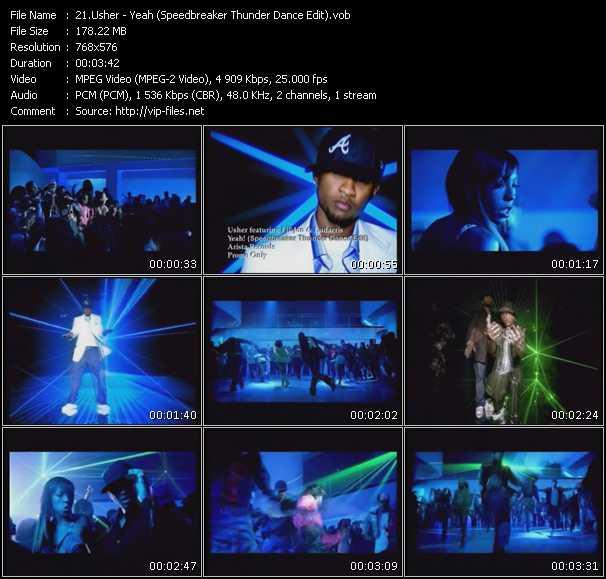 Usher - Yeah (Speedbreaker Thunder Dance Edit)