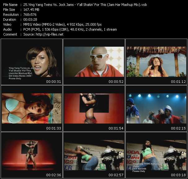 Ying Yang Twins Vs. Jock Jams - Y'all Shakin' For This (Jam Har Mashup Mix)