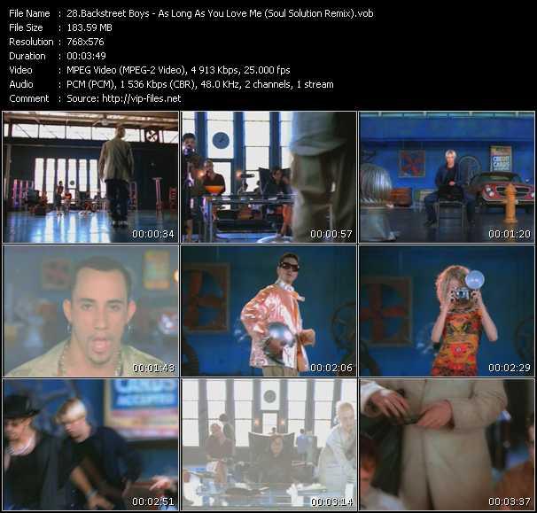 Backstreet Boys - As Long As You Love Me (Soul Solution Remix)