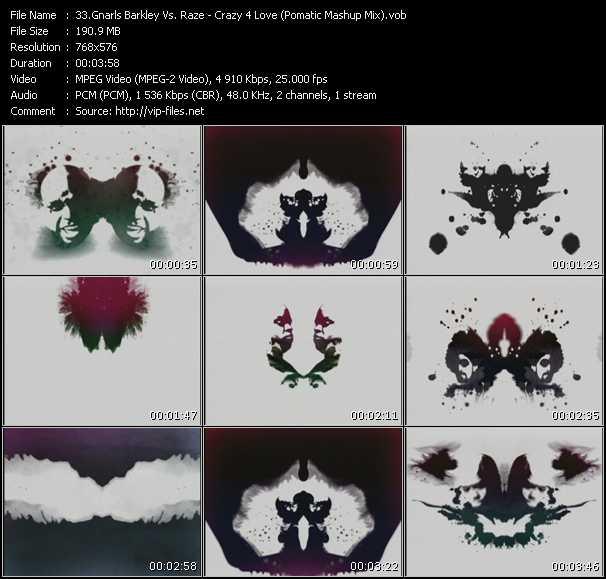 Gnarls Barkley Vs. Raze - Crazy 4 Love (Pomatic Mashup Mix)