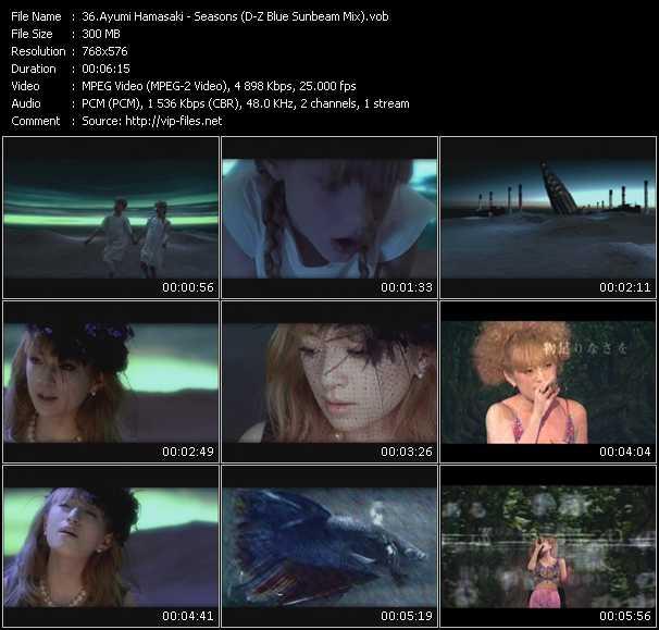Ayumi Hamasaki - Seasons (D-Z Blue Sunbeam Mix)