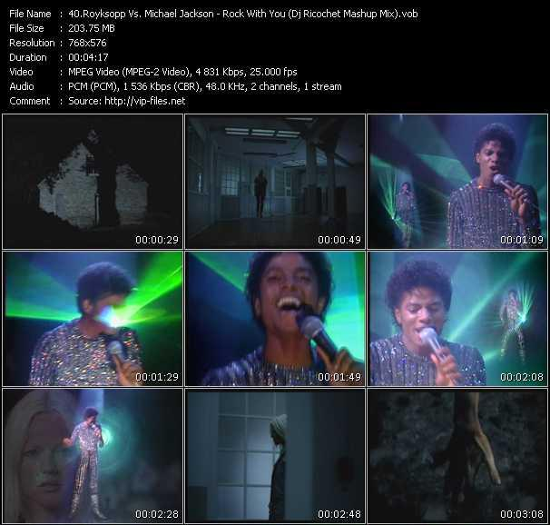 Royksopp Vs. Michael Jackson - Rock With You (Dj Ricochet Mashup Mix)
