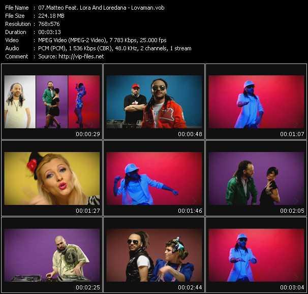 Matteo Feat. Lora And Loredana - Lovaman