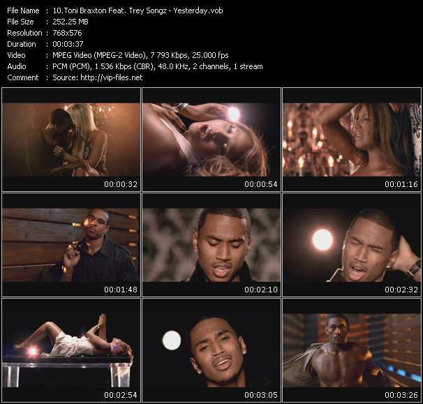 Toni Braxton Feat. Trey Songz - Yesterday